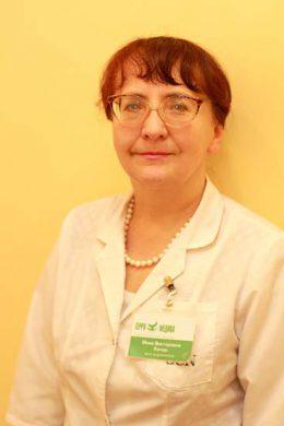 Врач-эндокринолог первой квалификационной категории
